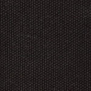 18oz Canvas FCF Superdry Black 6004 waxed cotton textile for waxed luggage and accessories