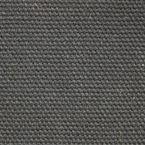 H366 Hybrid Black 62009 waxed cotton textile for waxed footwear, luggage and accessories