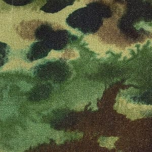 P200 Hybrid/Aero Paint Splash Print Camo Olive waxed cotton textile for waxed jackets and apparel, footwear, apparel and accessories
