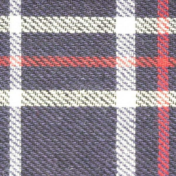 P140 Tartan Lining Tay Tartan WR Anti-Pill waxed cotton textile for waxed jackets and apparel