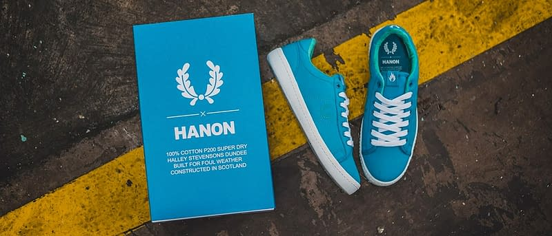 Hanon x Fred Perry