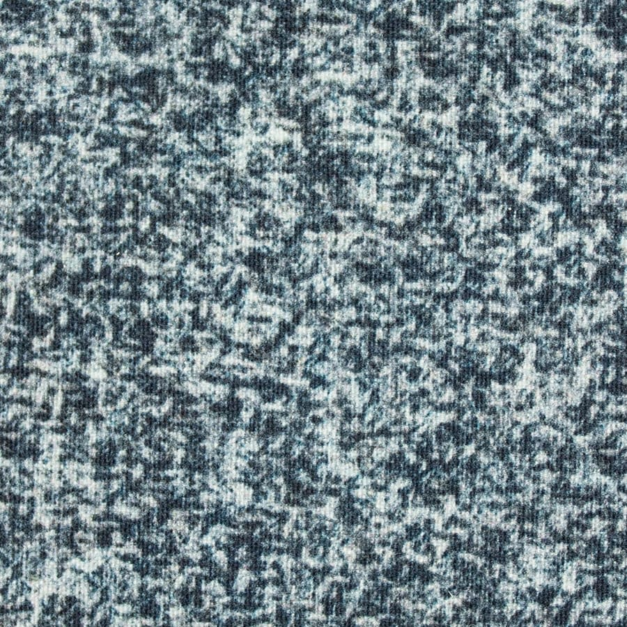 P200 Hybrid/Aero Blue Tweed Print waxed cotton textile for waxed jacket, footwear, apparel and accessories